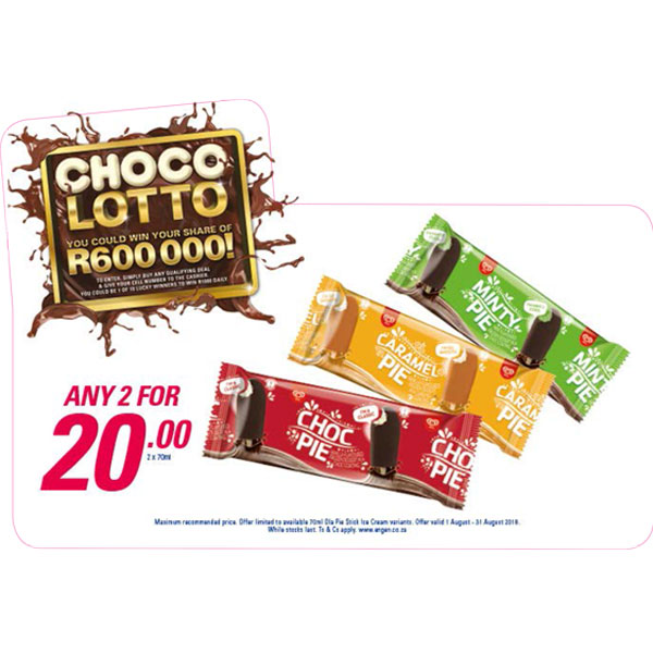 Choco Lotto Promotion - Choc Pie