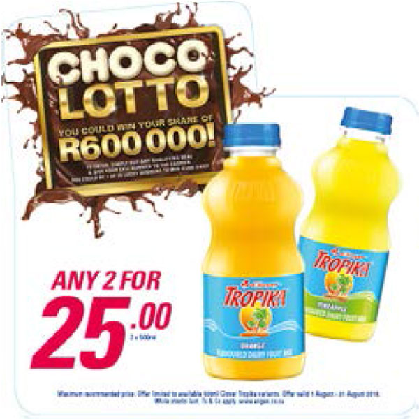 Choco Lotto Promotion - Tropika