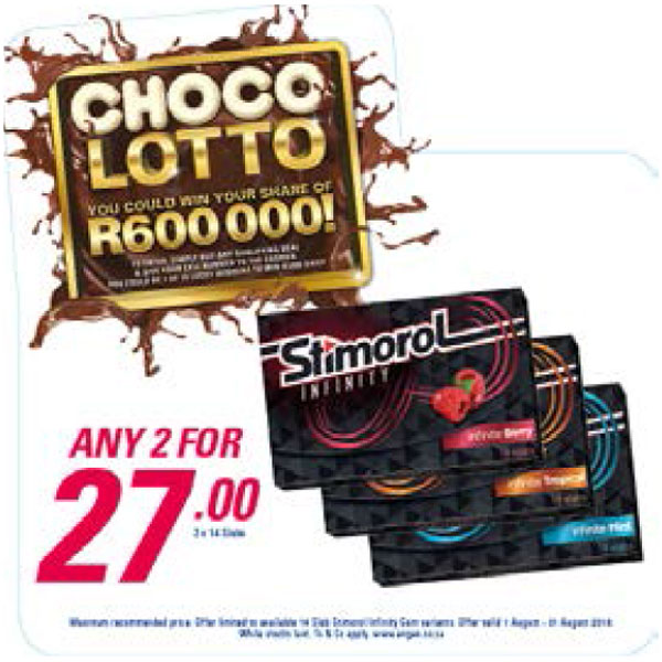 Choco Lotto Promotion - Stimorol