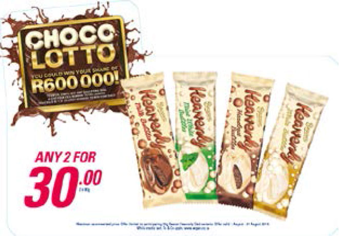 Choco Lotto Promotion - Heavenly Slab