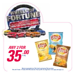 Wheel Of Fortune Promotion - Lays
