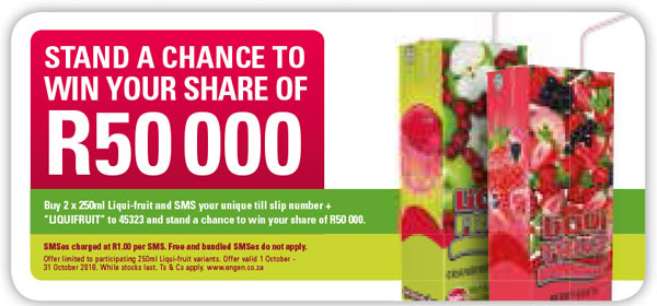 Wheel Of Fortune Promotion - Liqui-Fruit