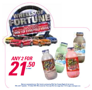 Wheel Of Fortune Promotion - Steri Stumpi