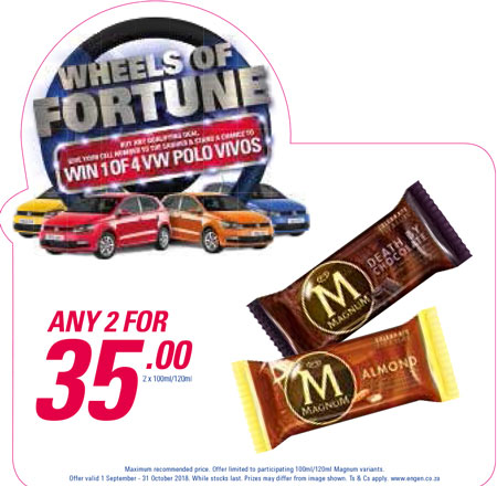 Wheel Of Fortune Promotion - Magnum