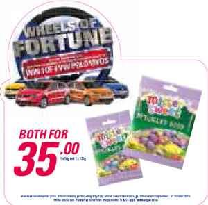 Wheel Of Fortune Promotion - Mister Sweet