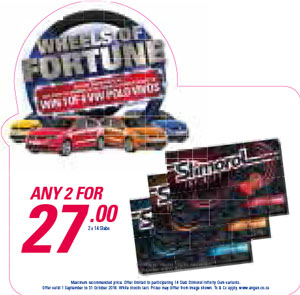 Wheel Of Fortune Promotion - Stimirol